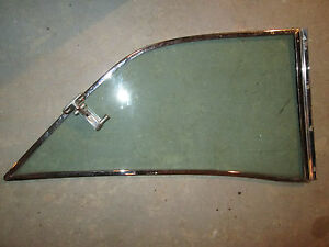 TRIUMPH Stag Hardtop GLASS ORIGINAl  Right Side