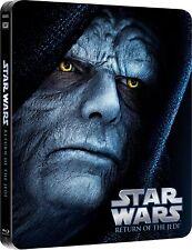 Star Wars Episode VI Return Of The Jedi Limited Edition Steelbook Bluray NEW