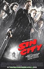 SIN CITY MOVIE POSTER SS 27x40 ORIGINAL MINT !! BRUCE WILLIS +JESSICA ALBA BONUS