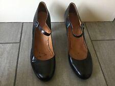 Jones Bootmaker Ladies Black Heeled Court Shoes Size 41. Great Condition.