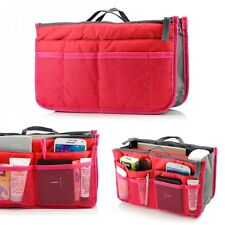 Women Purse Insert Handbag Organiser Travel Bag Tidy Lady Large Liner Inside New