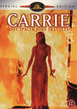 CARRIE SISSY SPACEK JOHN TRAVOLTA SPECIAL EDITION MGM UK RG2 DVD & BOOKLET L NEW