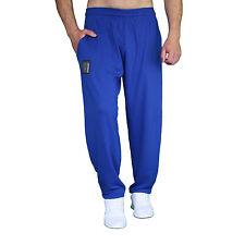 blaue Hose ohne Druck  BW Gym Pumper Sporthose Freizeithose Fitnesshose MORDEX