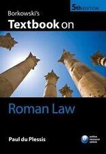 Borkowski's Textbook on Roman Law by Paul du Plessis (Paperback, 2015)