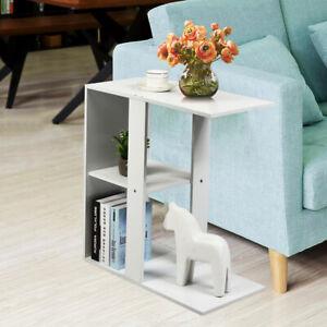 Beistelltisch Bücherregal Nachttisch Couchtisch Sofatisch Telefontisch + Ablage