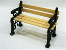 24th Scale Small Garden Bench, Dolls House Miniature 1/24th Scale