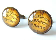 Vintage Planche Ouija Boutons de Manchette - Fait à la Main Cadeau Esprit