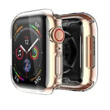 Clear Hard Full Case Cover Screen Protector For Apple Watch Series 4 44mm