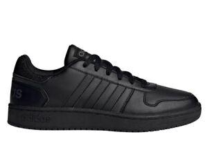 Scarpe uomo Adidas EE7422 sneakers basse sportive ginnastica scuola pelle nere
