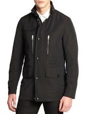 BURBERRY LONDON KINSTONE 3954962 FIELD MAN'S BLACK JACKET COLT 46/36US $1050