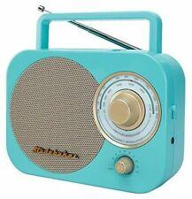 Studebaker Sb2000tg Retro Classic Portable Am/fm Radio Turquoise