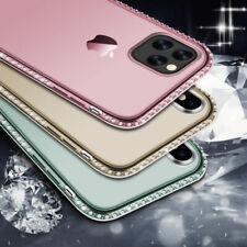 Glitter Diamond delgada de silicona suave cubierta para Estuche de TPU para iPhone 11 Pro XS Max 8 6S