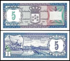 NETHERLANDS ANTILLES  5 Gulden 1984 UNC P 15 b