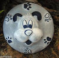 Dog plaque plastic mold plaster concrete casting mould