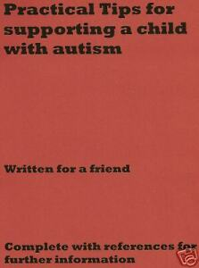Practical Tips to Support a Child with Autism  A4 Copy