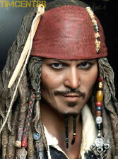 Hot Toys Pirates of the Caribbean DX06 Captain Jack Sparrow Johnny Depp 1/6 New