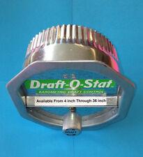 8 INCH 8B RC DRAFT BAROMETRIC DRAFT CONTROL FOR OIL BURNER OR COAL Draft-O-Stat