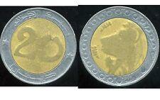 ALGERIE  ALGERIA 20 dinars 1993  ANM  ( bis )