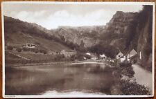 Cheddar Gorge Entrance Photochrom Co. 55049 1939 Sepia Somerset Postcard