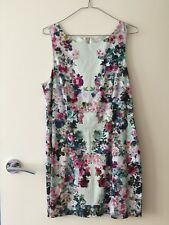 Sz14 Forever New Floral Cocktail Dress