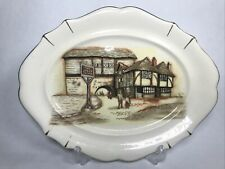 More details for vintage plate the jolly drover inn pub sandland ware staffordshire england