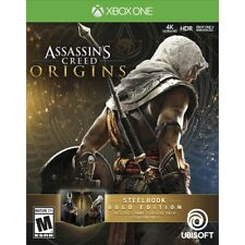 Assassin's Creed Origins SteelBook Gold Edition DELUXE PACK SEASON PASS XBOX ONE