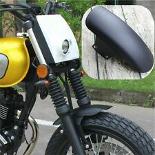 Universal Black Motorcycle Modified Front Fender Mudguard Cafe Racer Dirt Bike
