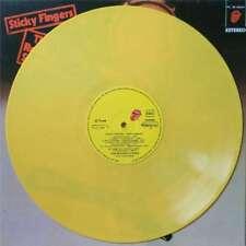ROLLING STONES - STICKY FINGERS (SP. PRESSING REISSUE 12 LP YELLOW VINYL)