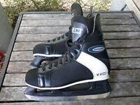 """Vtg CCM Intruder Men's Sz 11 Ice Hockey Skates SLM SL-1000 11-2/3"""" 296mm Blade"""