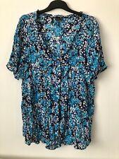 Ladies Top Plus Size Top Blouse Ann Harvey Size 28 Used BNWOT