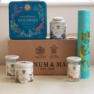 Fortnum & Mason Empty Biscuit Monkey Tin Highgrove Tea Marmalade Jar in F&M Box