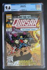 QUASAR #32 1st KORATH the PURSUER Danvers CAPTAIN MARVEL Movie 1992 CGC NM+ 9.6