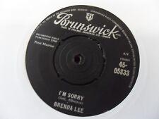 "BRENDA LEE  I""M SORRY    7"" VINYL"