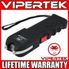 VIPERTEK Stun Gun VTS-989 - 600BV Heavy Duty Rechargeable LED Flashlight <br/> 550 Billion Stun Gun + LIFETIME WARRANTY + FREE Case