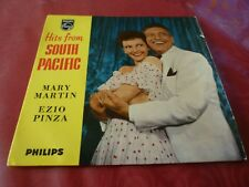 MARY MARTIN & EZIO PINZA---HITS FROM SOUTH PACIFIC       ENGLISH PRESSING   E.P.