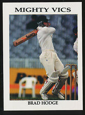 1990s Victorian Cricket Association Brad Hodge Mighty Vics card