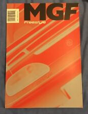 MG MGF Freestyle Limited Edition 2001 UK Market Sales Brochure 1.8i VVC 5686