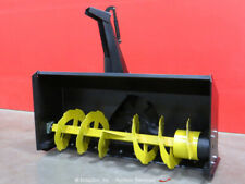 """New listing Greatbear 68"""" Snow Thrower Blower Hydraulic Skid Steer Attachment bidadoo -New"""