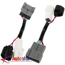 L&R Pair Set Mirrors Power Heated Upgrade Harness Adapter For Ford Excursion
