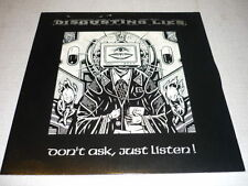 DISGUSTING LIES ITALIAN LP POLISH PUNK HARD ROCK *