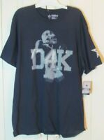 DAK PRESCOTT D4K Dallas Cowboys Men 2XL T-Shirt Dallas Cowboys Authentic NWT