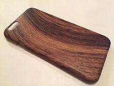 Apple iPhone 6 6S COVER CASE PROTETTIVA Hard Back venature del legno in legno di rovere D Marrone