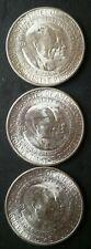 Three 1953 S 50c Washington/Carver Commemorative Silver Half Dollars