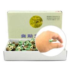 180pcs/box Smokeless Mini Moxa Stick Cone Roll Mugwort Acupuntura Moxibustion