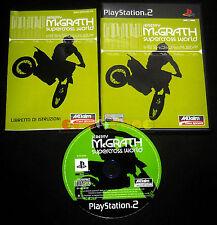 JEREMY MCGRATH SUPERCROSS WORLD PS2 Versione Ufficiale Italiana ••••• COMPLETO