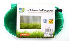 Schlauchregner 15 Meter | Sprühschlauch | Rasensprenger | Bewässerungsschlauch