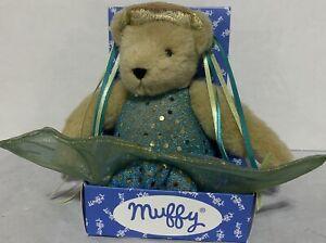 "Muffy 8"" Beach Ocean Mermaid Plush Teddy NABCO in Box North American Bear Co."