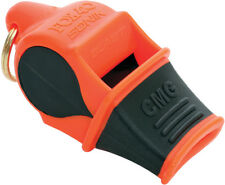 Fox 40 Sonik Blast CMG Whistle Orange Knife 9203-3308 Cushioned Mouth Grip). Bla