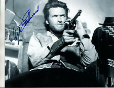 CLINT EASTWOOD - EARLY WESTERN - HAND SIGNED AUTOGRAPHED PHOTO WITH COA