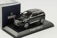 1 43 Norev PEUGEOT 3008 GT SUV 2016 Black
